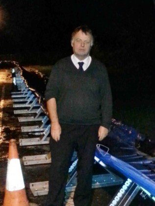 Floods Nov 2012: Andrew Smith MP, at Hinksey Park