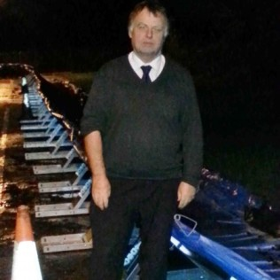 Floods Nov 2012: Andrew Smith MP, at Hinksey Park