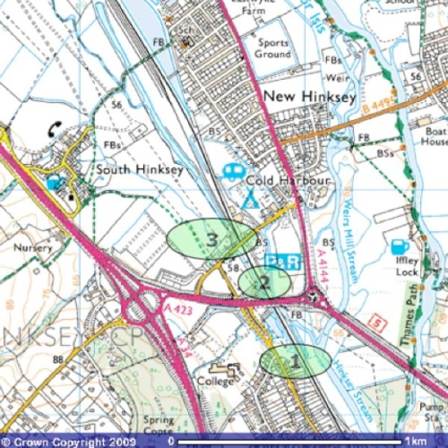 redbridge pinchpoints map