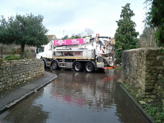 Sewer emptying 25.12.12
