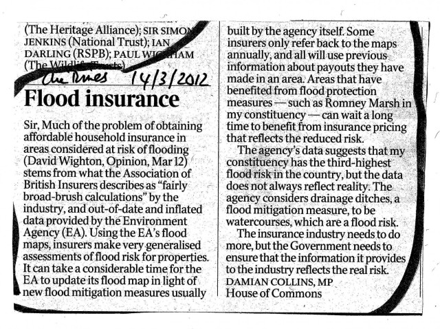 The Times 14 March 2012